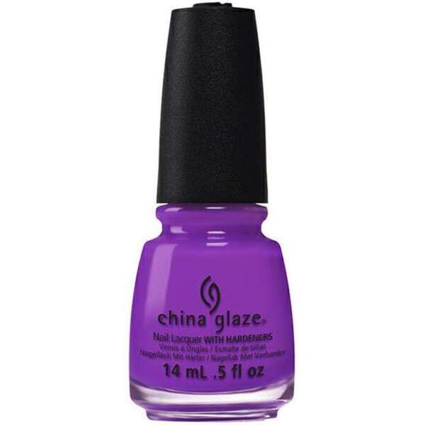 China Glaze Lacquer - Electric Nights Collection - VIOLET-VIBES 0.5 oz. (82600)