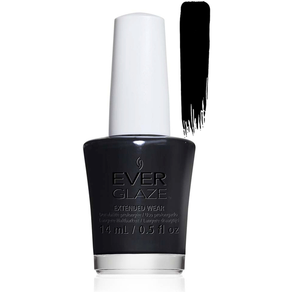 EverGlaze Air Dry Extended Wear Polish - BACK TO BLACK 0.5 oz. (82334)