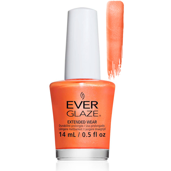 EverGlaze Air Dry Extended Wear Polish - ORANGE YOU OBSESSED BOTTLE 0.5 oz. (82311)