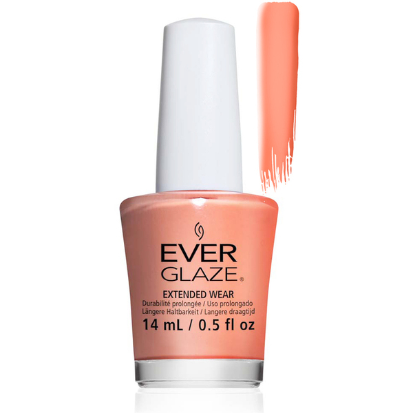 EverGlaze Air Dry Extended Wear Polish - WHAT A PEACH BOTTLE 0.5 oz. (82310)