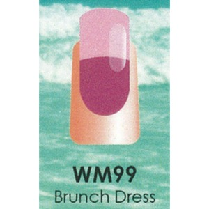 WaveGel Mood Color Soak Off Gel Polish - Brunch Dress 0.5 oz. (WM099)
