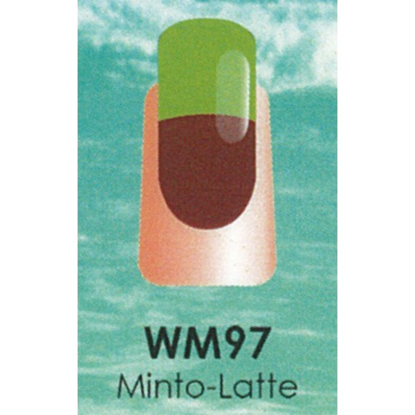 WaveGel Mood Color Soak Off Gel Polish - Minto-Latte 0.5 oz. (WM097)
