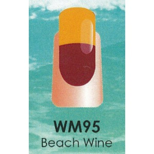 WaveGel Mood Color Soak Off Gel Polish - Beach Wine 0.5 oz. (WM095)