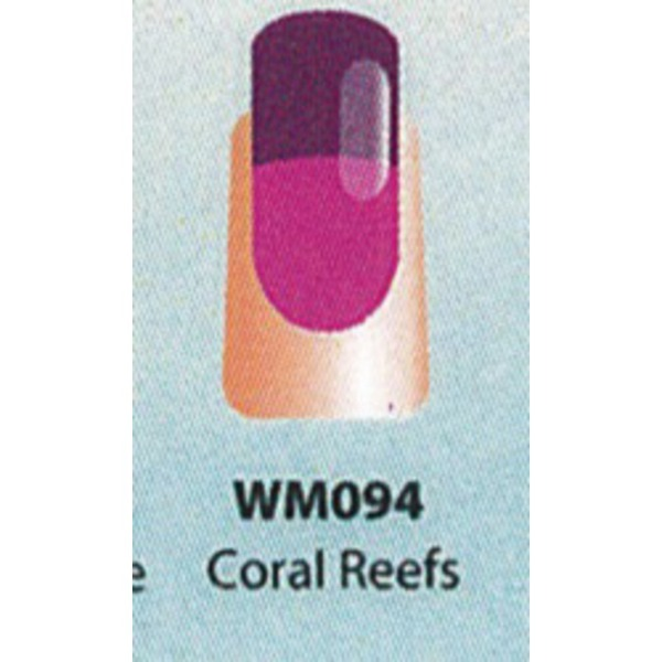 WaveGel Mood Color Soak Off Gel Polish - Coral Reefs 0.5 oz. (WM094)