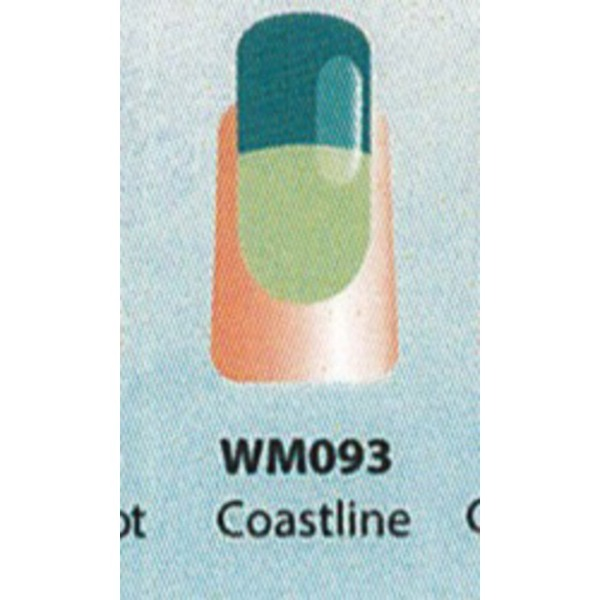 WaveGel Mood Color Soak Off Gel Polish - Coastline 0.5 oz. (WM093)