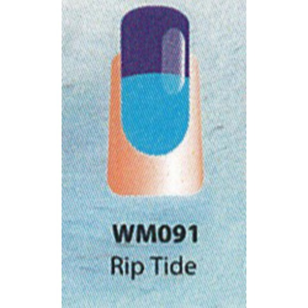 WaveGel Mood Color Soak Off Gel Polish - Rip Tide 0.5 oz. (WM091)