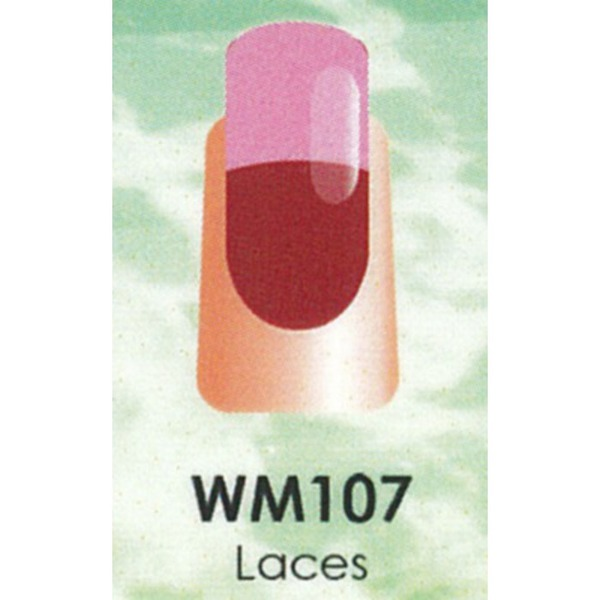 WaveGel Mood Color Soak Off Gel Polish - Laces 0.5 oz. (WM107)