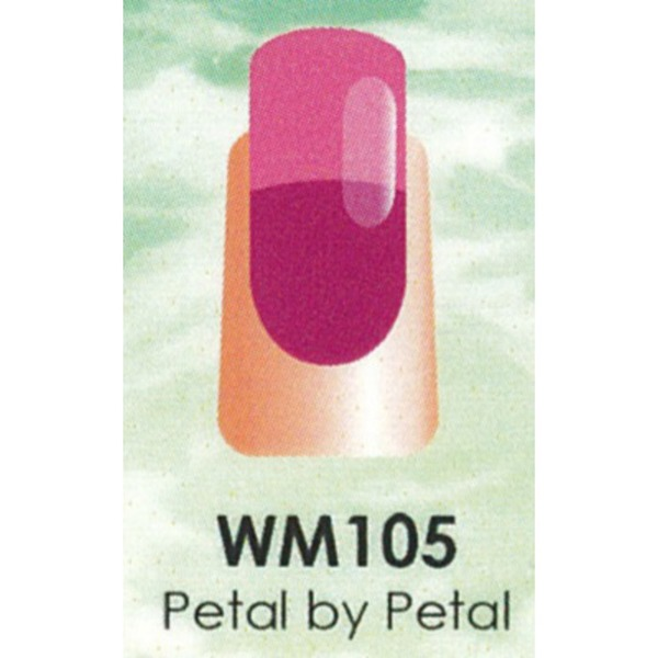 WaveGel Mood Color Soak Off Gel Polish - Petal by Petal 0.5 oz. (WM105)