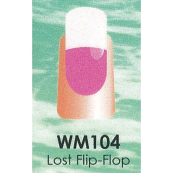 WaveGel Mood Color Soak Off Gel Polish - Lost Flip-Flop 0.5 oz. (WM104)