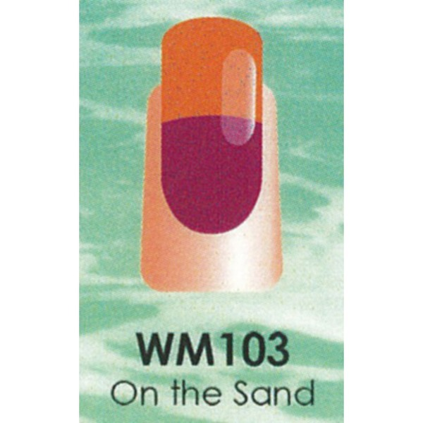 WaveGel Mood Color Soak Off Gel Polish - On The Sand 0.5 oz. (WM103)