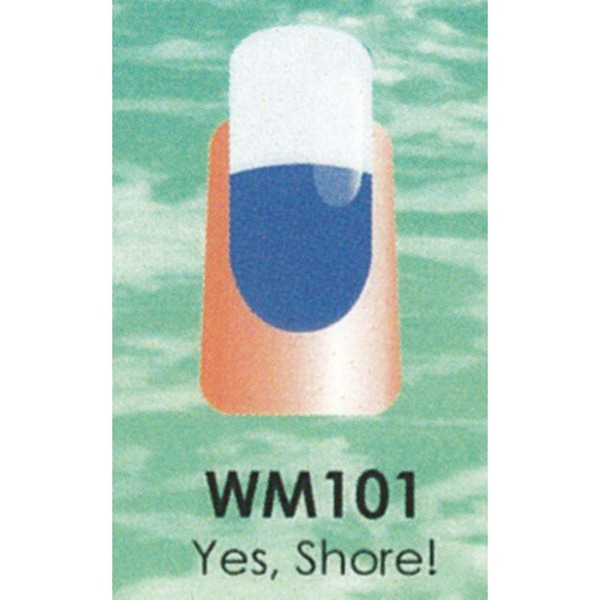 WaveGel Mood Color Soak Off Gel Polish - Yes Shore! 0.5 oz. (WM101)