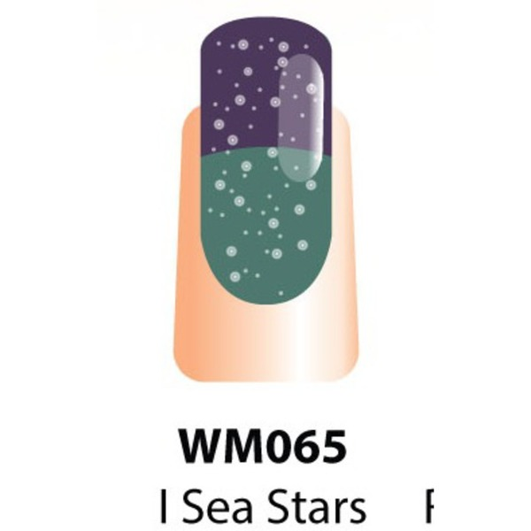 WaveGel Mood Color Soak Off Gel Polish - I Sea Stars 0.5 oz. (WM065)