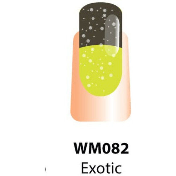 WaveGel Mood Color Soak Off Gel Polish - Exotic Fruit 0.5 oz. (WM082)
