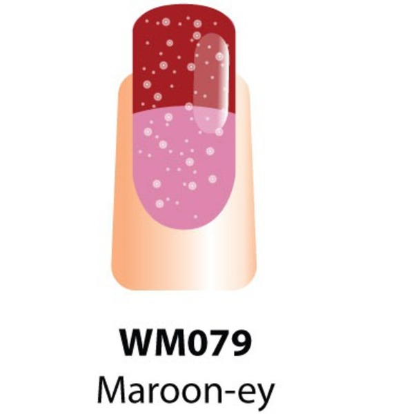 WaveGel Mood Color Soak Off Gel Polish - Maroon-ey 0.5 oz. (WM079)