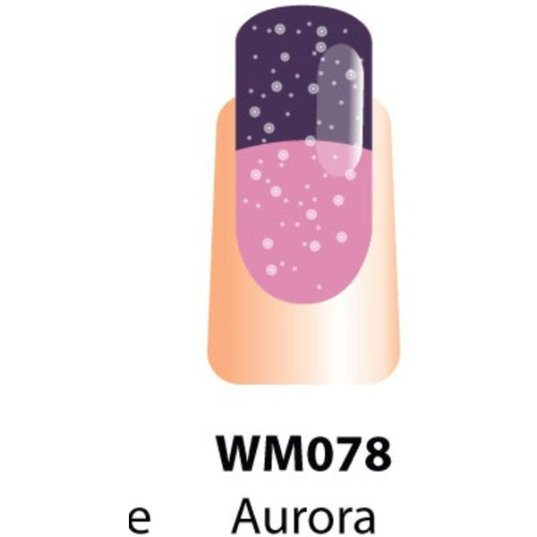 WaveGel Mood Color Soak Off Gel Polish - Aurora 0.5 oz. (WM078)