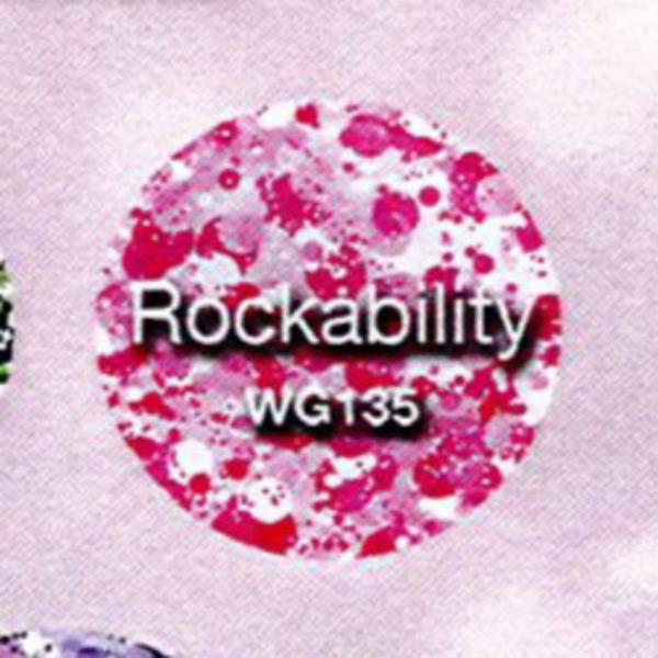 WaveGel Matching Soak Off Gel Polish & Nail Lacquer - Rockability 0.5 oz. Each (WG135)