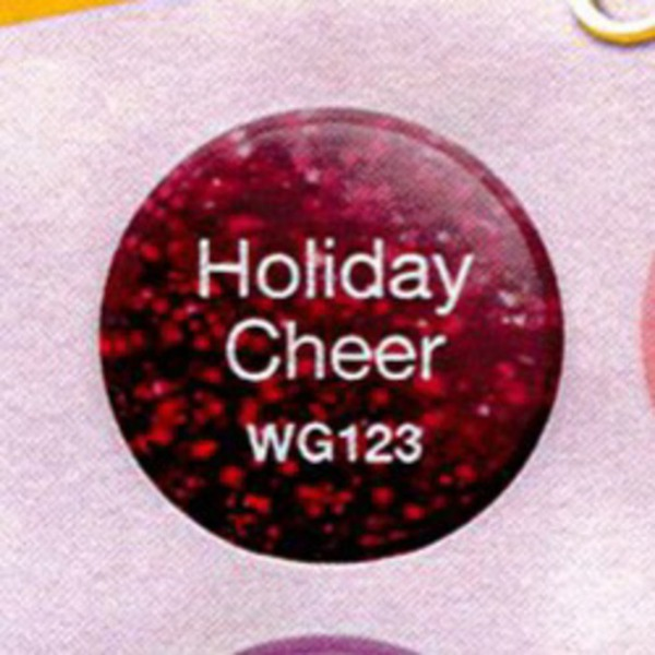 WaveGel Matching Soak Off Gel Polish & Nail Lacquer - Holiday Cheer 0.5 oz. Each (WG123)