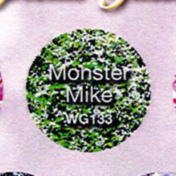 WaveGel Matching Soak Off Gel Polish & Nail Lacquer - Monster Mike 0.5 oz. Each (WG133)