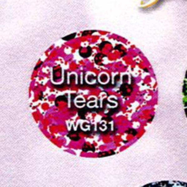 WaveGel Matching Soak Off Gel Polish & Nail Lacquer - Unicorn Tears 0.5 oz. Each (WG131)