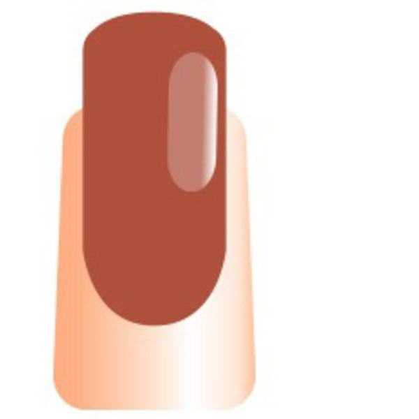 WaveGel Matching Soak Off Gel Polish & Nail Lacquer - It's Brown Day 0.5 oz. Each (WG076)