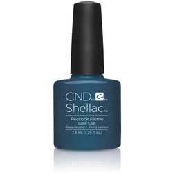 CND SHELLAC UV Color Coat - 2015 Contradictions Collection - Peacock Plume 0.25 oz. - The 14 Day Manicure is Here! (7220194000)
