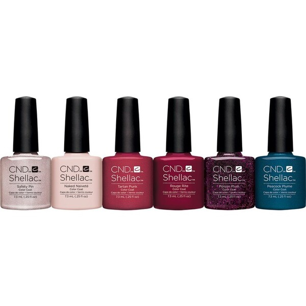 CND SHELLAC UV Color Coat - 2015 Contradictions Collection 6 Piece Color Set - The 14 Day Manicure is Here! (7220197000)