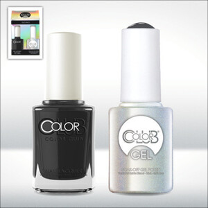 Color Club Gel Duo Pack - MUSE-ICAL - 1 Gel Lacuqer 0.5 oz + 1 Lacquer 0.5oz Matching Color (GEL968)