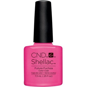 CND SHELLAC UV Color Coat - Art Vandal Collection - Magenta Mischief 0.25 oz. - The 14 Day Manicure is Here! ()