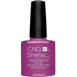 CND SHELLAC UV Color Coat - Art Vandal Collection - Future Fuchsia 0.25 oz. - The 14 Day Manicure is Here! ()