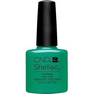 CND SHELLAC UV Color Coat - Art Vandal Collection - Art Basil 0.25 oz. - The 14 Day Manicure is Here! ()