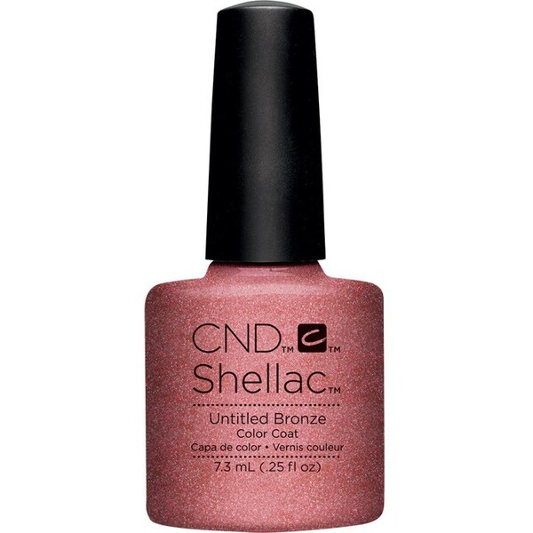 CND SHELLAC UV Color Coat - Art Vandal Collection - Untitled Bronze 0.25 oz. - The 14 Day Manicure is Here! ()