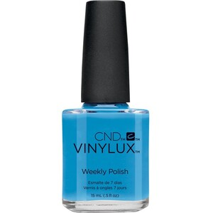 CND Vinylux Polish - Art Vandal Collection - Digi-teal 0.5 oz. - 7 Day Air Dry Nail Polish ()