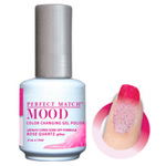 Mood Color Changing Soak Off Gel Polish - ROSE QUARTZ (Glitter) (MPMG48)
