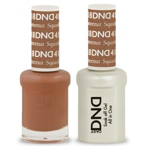 DND Duo GEL Pack - BUTTERNUT SQUASH 1 Gel Polish 0.47 oz. + 1 Lacquer 0.47 oz. in Matching Color (DND-G418)