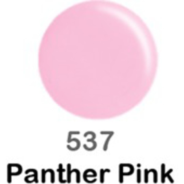 DND Duo GEL Pack - PANTHER PINK 1 Gel Polish 0.47 oz. + 1 Lacquer 0.47 oz. in Matching Color (DND-G537)