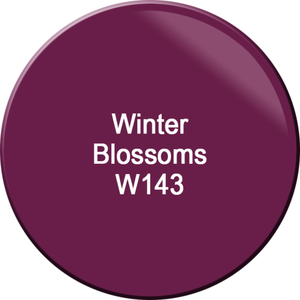 WaveGel Matching Soak Off Gel Polish & Nail Lacquer - Winter Blossoms 0.5 oz. Each (WG143)