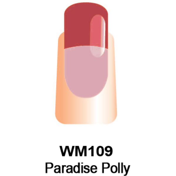 WaveGel Mood Color Soak Off Gel Polish - Paradise Polly 0.5 oz. (WM109)