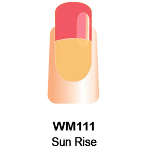 WaveGel Mood Color Soak Off Gel Polish - Sun Rise 0.5 oz. (WM111)