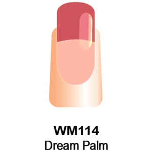 WaveGel Mood Color Soak Off Gel Polish - Dream Palm 0.5 oz. (WM114)