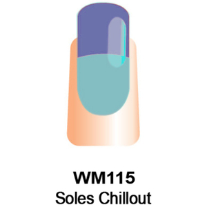 WaveGel Mood Color Soak Off Gel Polish - Soles Chillout 0.5 oz. (WM115)