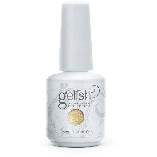 Gelish Soak Off Gel Polish - After Hours Collection - Give Me Gold 0.5 oz. (#1100002)