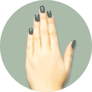 iGel Matched Set: 1 iGel Impecable Soaked-off Gel Polish 0.5 oz. + 1 iLacquer Matching Nail Lacquer Color 0.5 oz. - CONFIDENT - # 3 (igel-3)