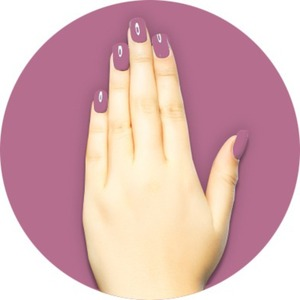 iGel Matched Set: 1 iGel Impecable Soaked-off Gel Polish 0.5 oz. + 1 iLacquer Matching Nail Lacquer Color 0.5 oz. - CARNATIONS - # 9 (igel-9)