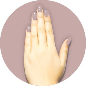 iGel Matched Set: 1 iGel Impecable Soaked-off Gel Polish 0.5 oz. + 1 iLacquer Matching Nail Lacquer Color 0.5 oz. - WEDDING CAKE - # 22 (igel-22)