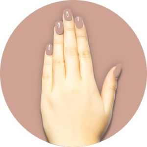 iGel Matched Set: 1 iGel Impecable Soaked-off Gel Polish 0.5 oz. + 1 iLacquer Matching Nail Lacquer Color 0.5 oz. - CAFFE LATTE - # 29 (igel-29)