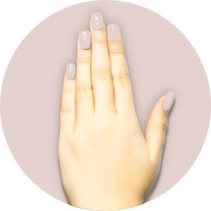 iGel Matched Set: 1 iGel Impecable Soaked-off Gel Polish 0.5 oz. + 1 iLacquer Matching Nail Lacquer Color 0.5 oz. - BRIDAL VEIL - # 34 (igel-34)