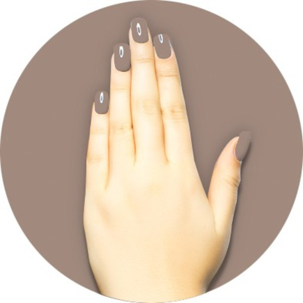 iGel Matched Set: 1 iGel Impecable Soaked-off Gel Polish 0.5 oz. + 1 iLacquer Matching Nail Lacquer Color 0.5 oz. - CORDUROY - # 50 (igel-50)