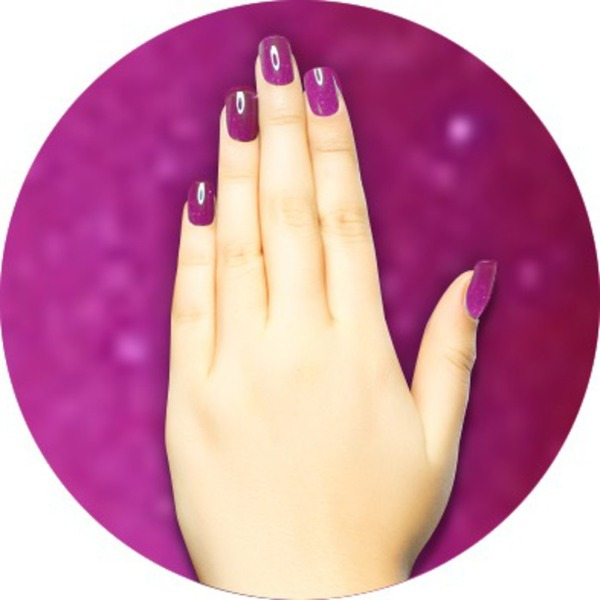 iGel Matched Set: 1 iGel Impecable Soaked-off Gel Polish 0.5 oz. + 1 iLacquer Matching Nail Lacquer Color 0.5 oz. - GRAPES - # 54 (igel-54)