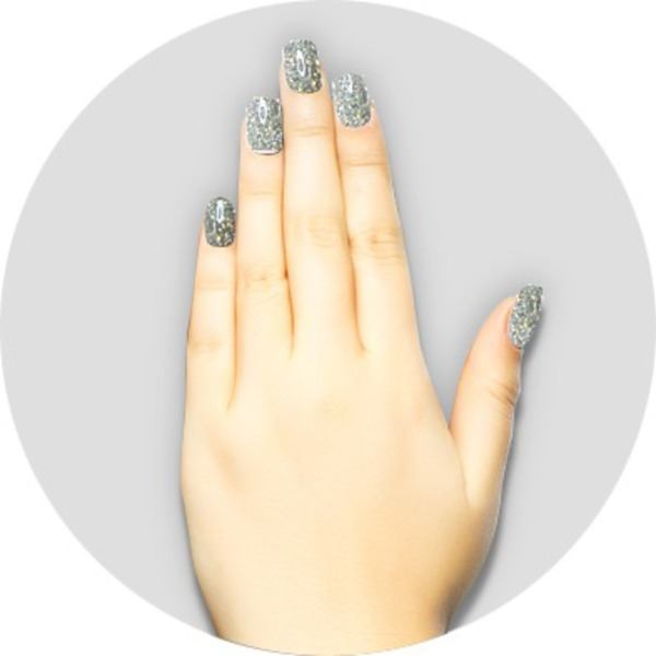 iGel Matched Set: 1 iGel Impecable Soaked-off Gel Polish 0.5 oz. + 1 iLacquer Matching Nail Lacquer Color 0.5 oz. - PLATINUM - # 61 (igel-61)
