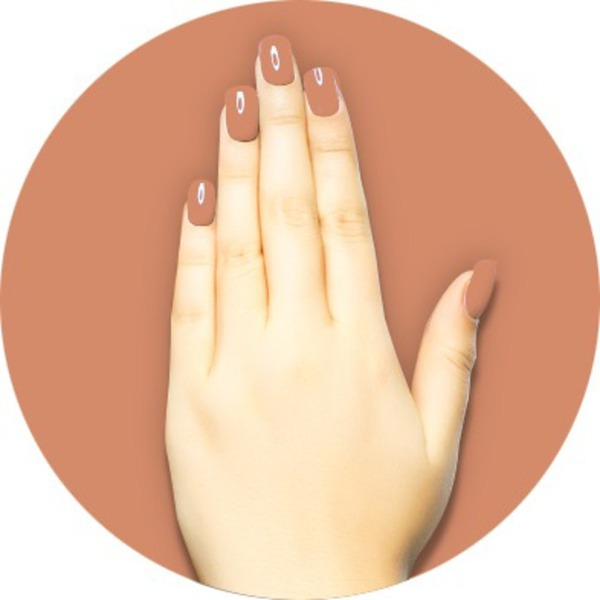 iGel Matched Set: 1 iGel Impecable Soaked-off Gel Polish 0.5 oz. + 1 iLacquer Matching Nail Lacquer Color 0.5 oz. - PUMPKIN SPICE - # 88 (igel-88)